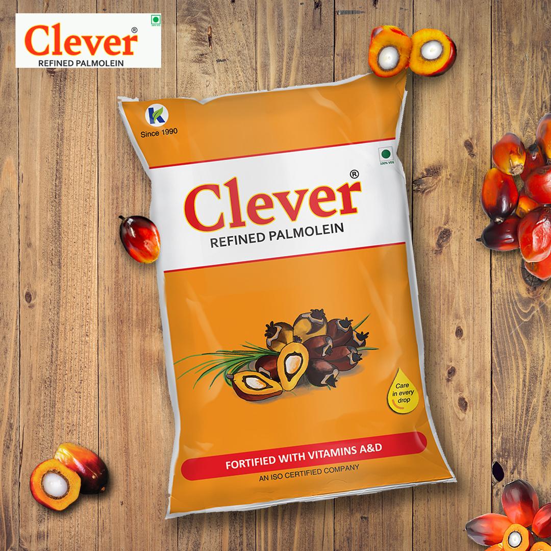 Clever Palm Oil 1 Litre Pouch Bottle